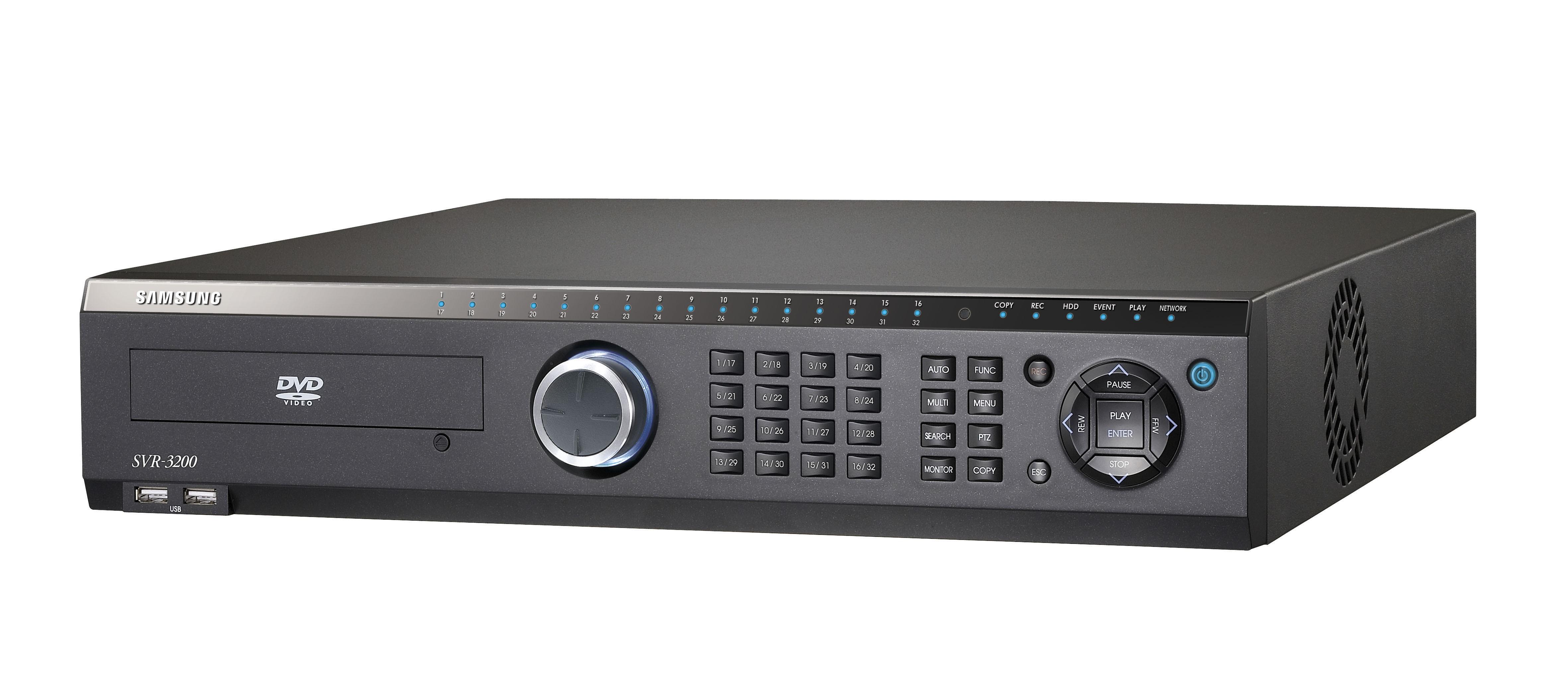 SVR-3200 /SVR3200. Video grabador digital Premium de 32 canales, 960fps(N) en tiempo real verdadero, 800fps(P) D1, MPEG-4, Imagen de alta resolución, 4 HDDs SATA internos, Puertos USB, 16 CH audio.